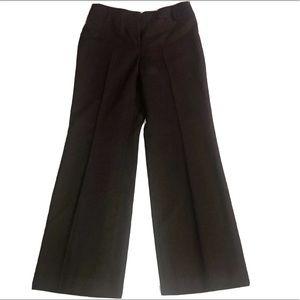 "Ann Taylor Loft ""Laura"" Brown 100% Wool Pants"
